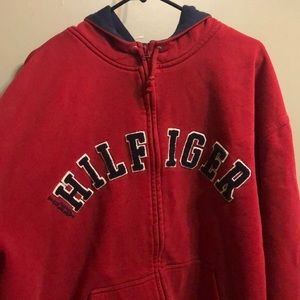 Tommy Hilfiger Zip Up Jacket With Front Pockets